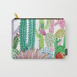 Cactus Illustration Carry-All Pouch