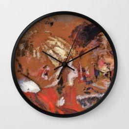 Edouard Vuillard - Children Reading - Digital Remastered Edition Wall Clock
