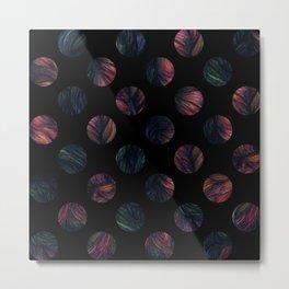 Circles - Half The World Metal Print