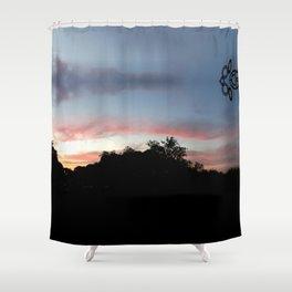 Austin Sunset Shower Curtain