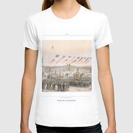 Paris art print Paris Decor office decoration vintage decor PLACE CONCORDE of Paris T-shirt