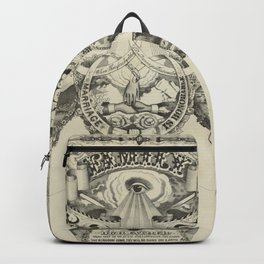 Antique Family Tree Backpack