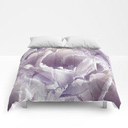 Tulip splashes Comforters