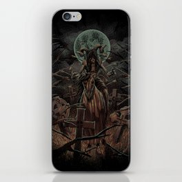 The Somber Undead iPhone Skin