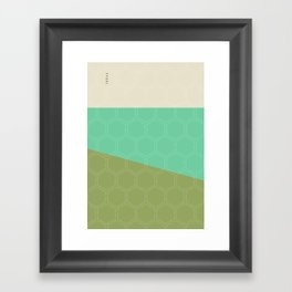 Geo Block No. 1 Framed Art Print