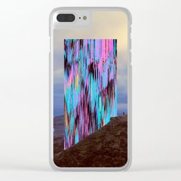 U/26 Clear iPhone Case