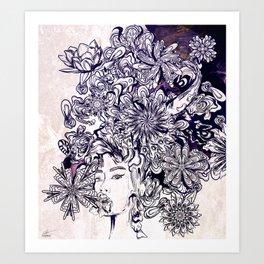 Madhavi Art Print
