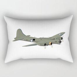 B-17 Flying Fortress WW2 Heavy Bomber Rectangular Pillow