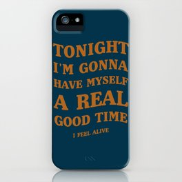 A Queen's song! | Good Music, Good Times. iPhone Case