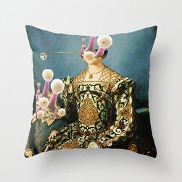 Angelo Bronzino, Eleonora Toledo with Child and the New Reverse Throw Pillow