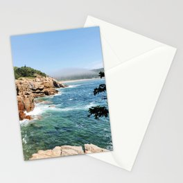 Overlook in Acadia National Park Stationery Cards