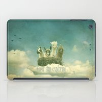 never stop exploring iPad Cases featuring Never Stop Exploring by Monika Strigel