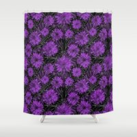 dreamer Shower Curtains featuring Dreamer by Bunyip Designs