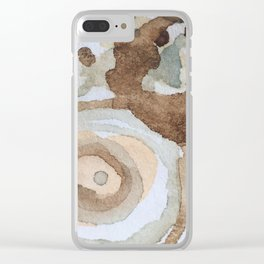 Emergent ecologies Clear iPhone Case