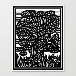 Abdullah Reikos Forest Canvas Print