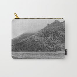 Lake Black and white Carry-All Pouch