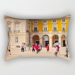 Lisbon Place architecture Rectangular Pillow