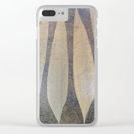 Pottery Design - 2 Clear iPhone Case