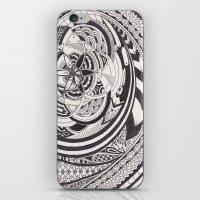 fibonacci iPhone & iPod Skins featuring Fibonacci Effect by SRC Creations