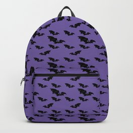 Batty purple Backpack