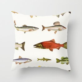 Fishing Line Throw Pillow