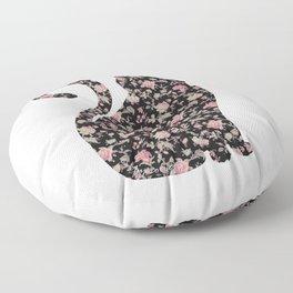 Floral Pro-Choice Cat Floor Pillow