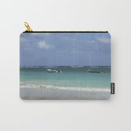 Carribean sea 12 Carry-All Pouch