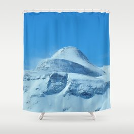 The imposing peak of Gjaidstein, Austria Shower Curtain