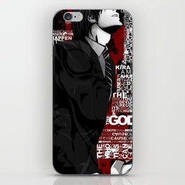 Death Note iPhone Skin