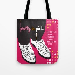 80s TEEN MOVIES :: PRETTY IN PINK Tote Bag