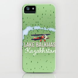 Lake Balkhash Kazakhstan iPhone Case