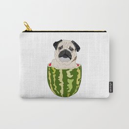 Pug Watermelon Carry-All Pouch