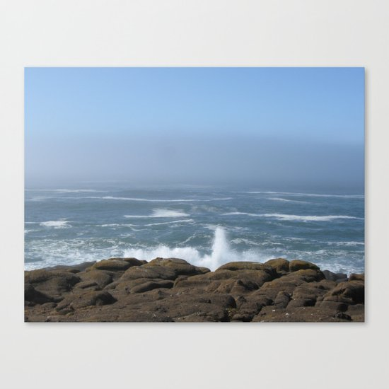 Splashing Up Canvas Print