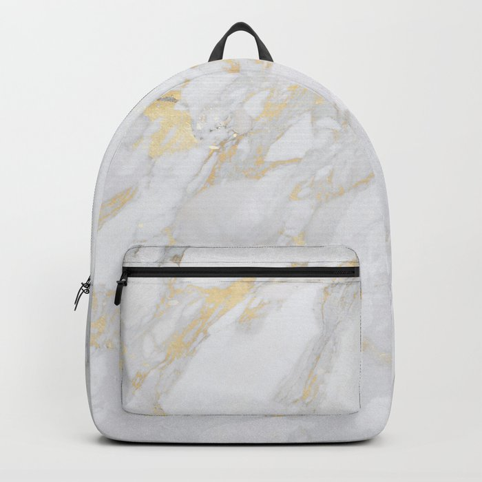 Marble with Gold Backpack