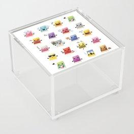 Bookiemoji Party Acrylic Box