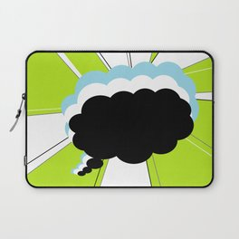 Thought Bubbles Laptop Sleeve
