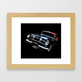 Purring Pontiac Framed Art Print