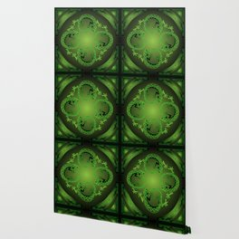 Vintage Green Gecko Wallpaper
