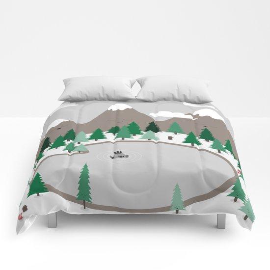 Lake Monster Comforters
