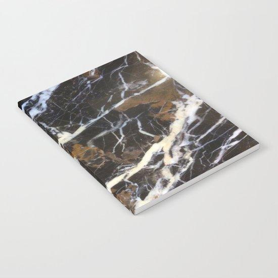 Stylish Polished Black Marble Notebook