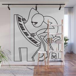 Jazz Piano Wall Mural