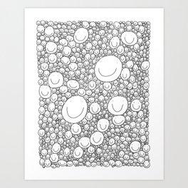 Sticking Together Art Print