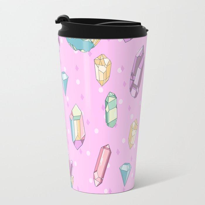 It's Crystal Clear Travel Mug