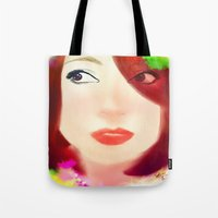che Tote Bags featuring Che by Sheree Tampus