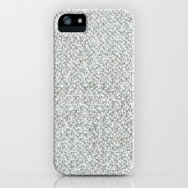 2,173 Pugs on Graph Paper iPhone Case