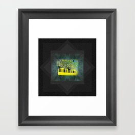 Futuretro Space Framed Art Print
