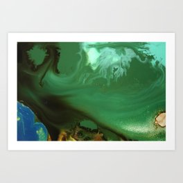 Blended Forest Art Print
