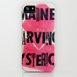 Ginsberg iPhone Case