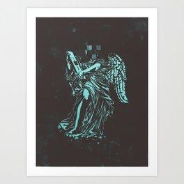 Censored Saints #3 Art Print