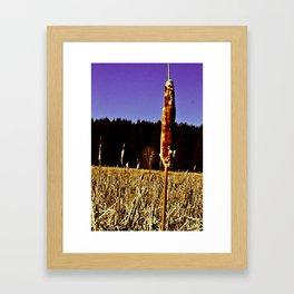 Husk Framed Art Print